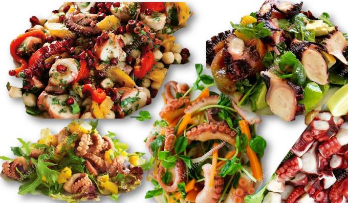 Ahtapot Salatası Videosu 25