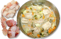 MONK FISH SOUP