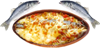 SEA BASS in BRICK STEW