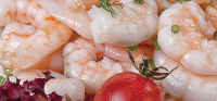 MARINATED SHRIMP WITH DILL